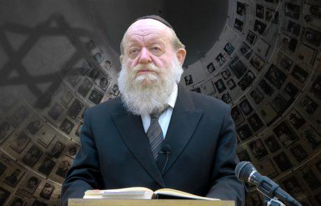 """מצמרר: האדמו""""ר שחזה במדויק את השואה"""